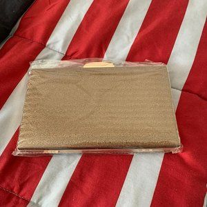 Golden Sparkly Clutch - New without tags